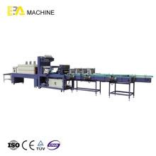 Liner Typ automatische PE Film Shrink Wrapping Machine