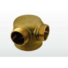 Producto de fuego - T de reducción de latón