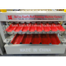 Manufacturer of for IBR Double Deck Making Machine Double Layer Ppgi Roof Sheet Roll Forming Machine supply to Zimbabwe Importers