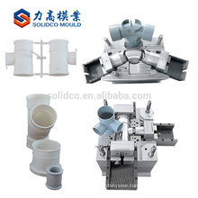 plastic pipe fittings mould making high quality small pvc pipe fitting mould