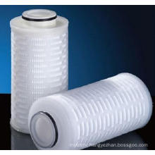 Absoluted Rated Polypropylene / PP Pleated Membrane Filter Cartridge