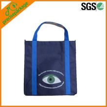 El reciclaje promocional recicla el bolso de compras no tejido