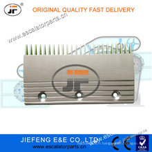 JFThyssen AVANT Escalator Comb Plate Center X26032398 L = 204 * W115.5mm, 24T Plaque de peigne d'escalator
