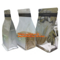 Biodegradable Eco Environmentally friendly Customized Standing Up Pouch aluminum foil vacuum empty tea bag for snack