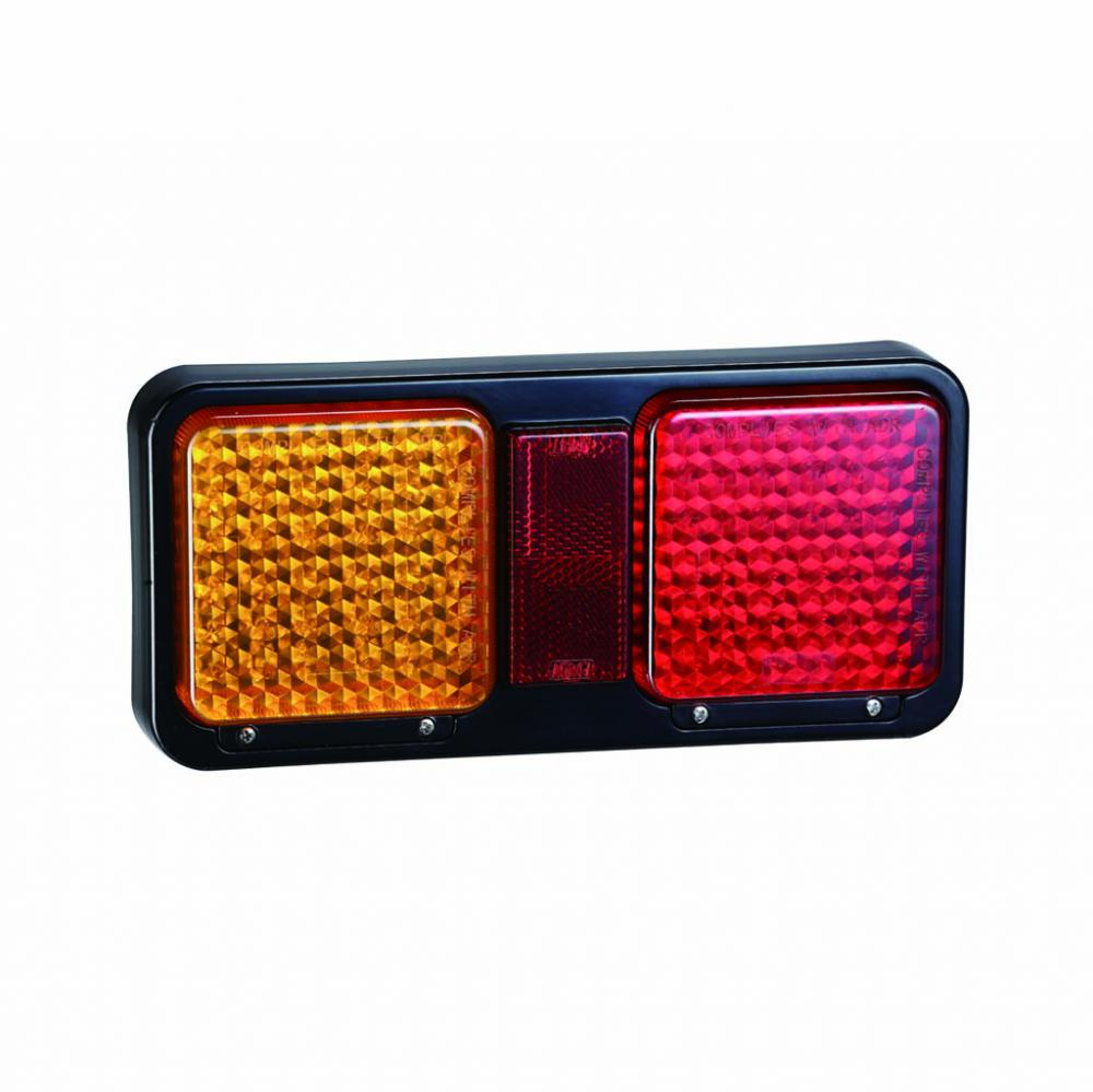 Square LED Truck Tail Combination lamps
