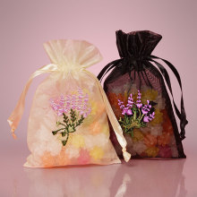 Organza Drawstring Gift Bag Atacado