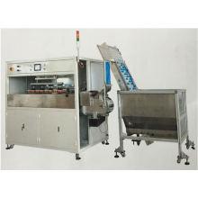 2- Máquina automática de impressora de almofadas de 4 cores para tampas de garrafa