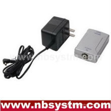 digital Coaxial (S PDIF) to Toslink converter