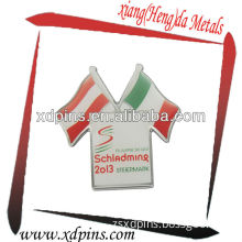 Offset Printing Flag Pin for Cheap