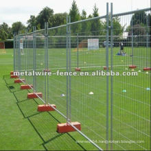 temporary removable/portable wire mesh tube fencing