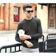 Men′s Cashmere Sweater with Round Neck (13brdm002-1)