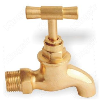 Brass Taps with one cross