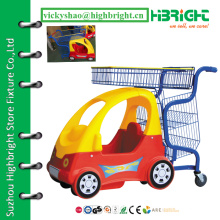 Carrinho para crianças, carrinho para crianças, carrinho de compras para crianças do supermercado