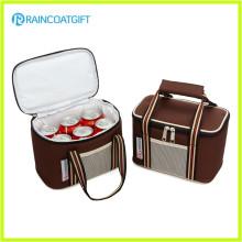 600d Alumium Foil 6 Pack Can Cooler Bag RGB-093