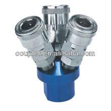 3-Way Pneumatic tools quick connectors