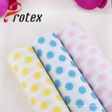 Hot Selling DOT impressão flor Wrap Tecido de poliéster não-tecidos
