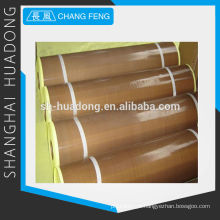 PTFE revestido manufactory da tela, o adesivo de fibra de vidro dos produtos PTFE em Xangai