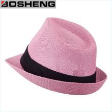 New Trilby Beach Summer Sun Wide Brim Straw Cap Hat
