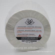Rollo de papel en blanco liso en tamaño personalizado