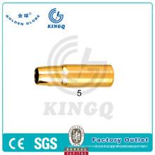 Kingq MIG / Mag / CO2 Tweco Boquilla de gas para la antorcha de soldadura