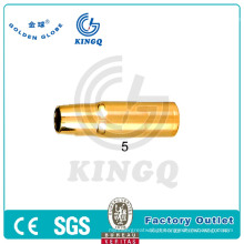 Kingq MIG / Mag / CO2 Tweco Bico de gás para tocha de soldagem