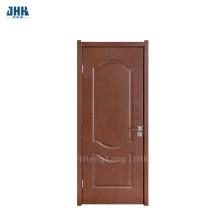 JHK Brown Color 2 Panel PVC Door