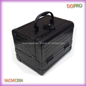 Hot Sale Cheap Small Crocodile Makeup Train Case (SACMC004)