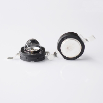 High Power 850nm IR LED 1W svart fodral