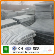 high galvanized mild expanded steel diamond wire mesh panel(Made in Anping,China)