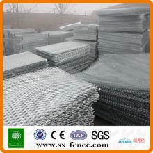 Alto galvanizado leve expandido aço diamante painel de malha de arame (Made in Anping, China)