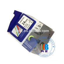 TZ 18MM Compatible laminated thermal label printer tape