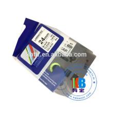 TZ 18MM Fita de impressão de etiquetas térmica laminada compatível
