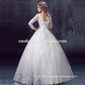 El último vestido de lujo de la bola de la boda con buena calidad y precio barato