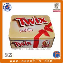 Caixa de lata de presente para fabricantes de caixa de presente personalizada