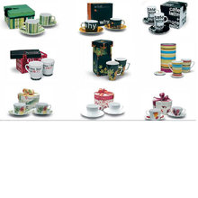 Taza de café de porcelana y platillo para BS120801A