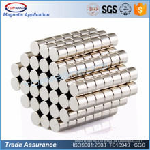 N38 Ni Coating Permernant Cheap Neodymium Magnet
