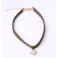 Art- und Weisegewebe-Choker-Halsketten-Fabrik-direkter Großhandelspreis