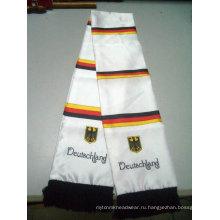 Модные трикотажные футбольные шарфы