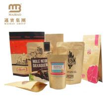 Guangzhou Maibao Moisture-Proof Food Grade Custom Design Kraft Paper Bags For Flour Packaging 1 Kg