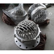 Vanne à pied en acier inoxydable Dn350 Pn10 DIN