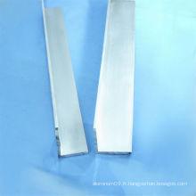 Profilé en aluminium / extrusion d'aluminium