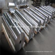 Papel de alumínio de rolo jumbo para uso familiar e hoteleiro para cozinhar