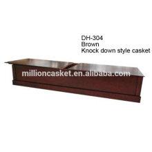 Estilo americano comprar caixão cremação de madeira personalizada