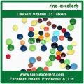 Comprimé de vitamine D3 de calcium CAS 67-97-0