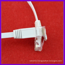 Network Cat5e cat6 flat patch cord cable / rj45 flat cable/patch cable