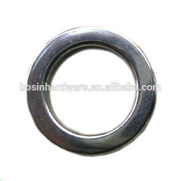 Fashion High Quality Metal Fishing Accessories Stainless Steel Ring