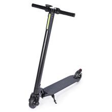5.5 inch Carbon Fiber Black Color Electric Scooter