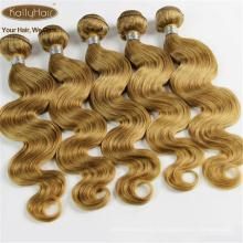 7A 100% Brésiliens Vierges Humains Extensions de Cheveux Humains Blonds