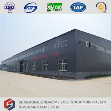Multiple Span Metal Frame Plant Building