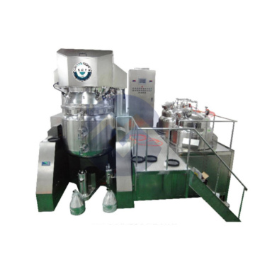 The Vacuum emulsifying mixer